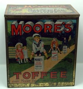 MORE'S Cream Caramel Toffee, England, 20er Jahre