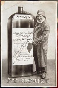 Janhagel: Ansichtskarte der Firma van Munster