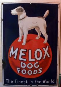 Melox Dog Foods - Großbritannien, 20er Jahre