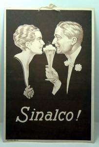 SINALCO, Pappplakat um 1910, Österreich
