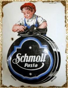 SCHMOLL Pasta - Schuhcreme, um 1915 - Budapest