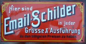 Email-Schilder - Reklame für Reklameschilder :)