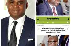 """""""Where are the genuine protectors of mother Ghana? """"- HRH Oscar Doe queries"""