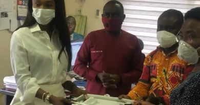 Becca Donates Medical Equipments To Public Hospitals In Ghana Ahead Of Her Birthday