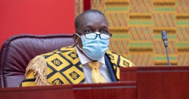Speaker officially declares NPP, majority side in 8th Parliament