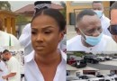 Video: kwadwo Safo Jnr. flaunts cars at his mansion as wife surprises him on birthday