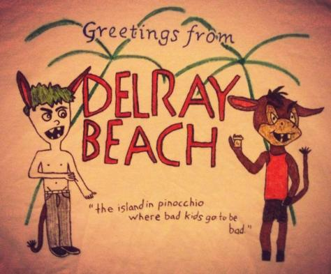 Greetings From Delray Beach shirt #1