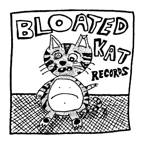 """Bloated Kat."" 4/30/13. Pencil, pen, digital. 10x10""."