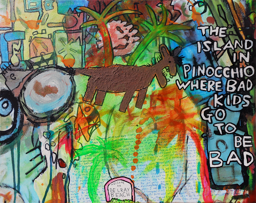 The Island in Pinocchio ... (Welcome to Delray Beach) | Sammy ...