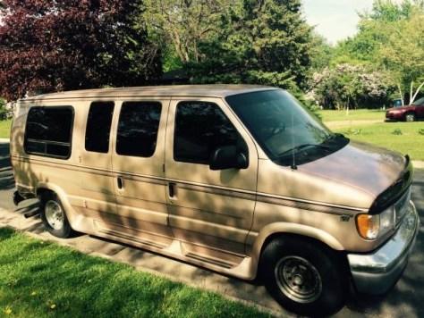 The new van.