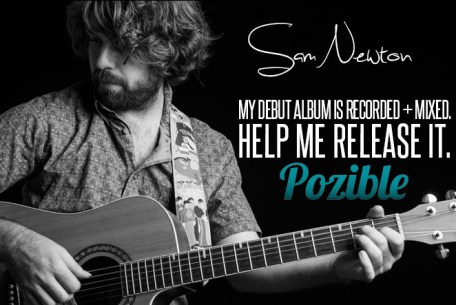 Announcing my Pozible Campaign to help fund the release of my Debut Album
