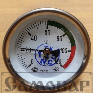 Термометр биметаллический ТБП63
