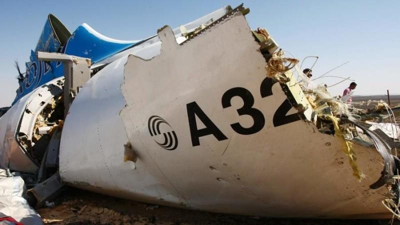 причины падения самолета