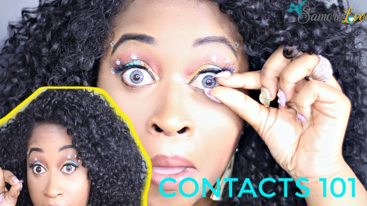 HOW TO REMOVE CONTACT LENSES FOR BEGINNERS (STEP BY STEP ...