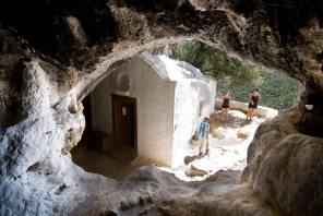 pythagoras cave samos