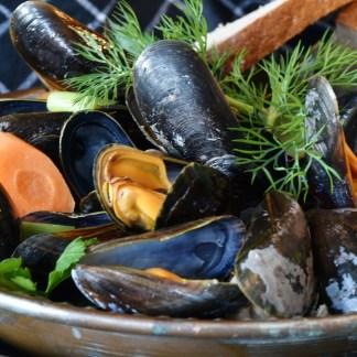 Tasty Newfoundland Mussels