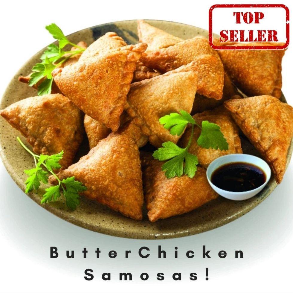 Butter Chicken Samosas