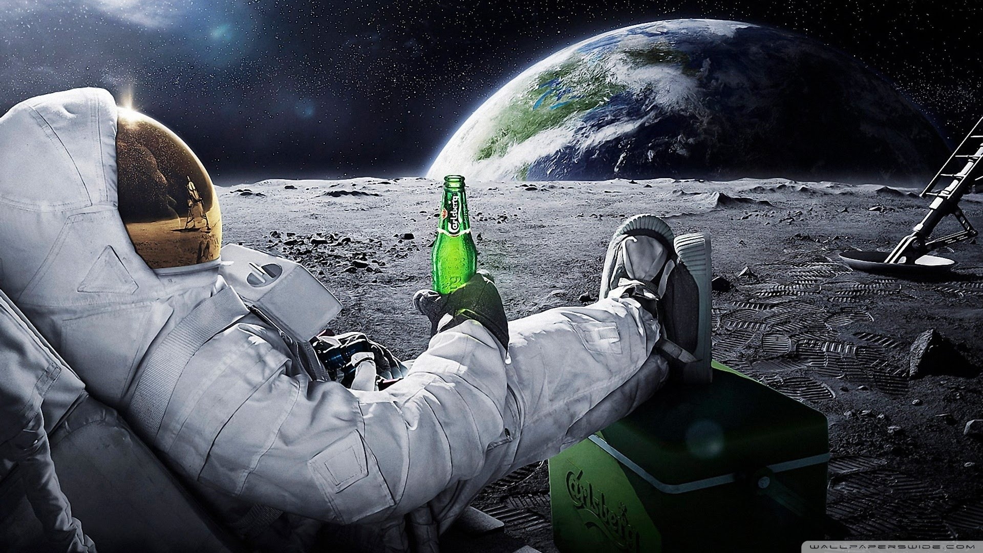 Inspirational Story – MAN IN SPACE