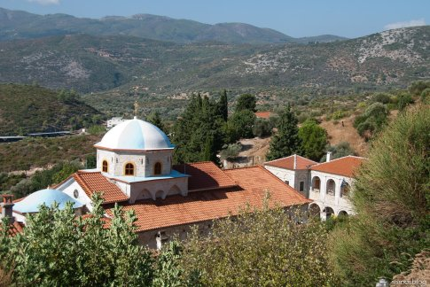 The magnificent view from the monastery