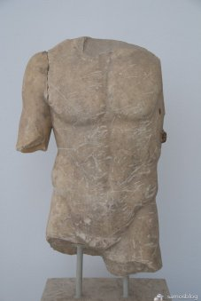 Statue from Samos museum