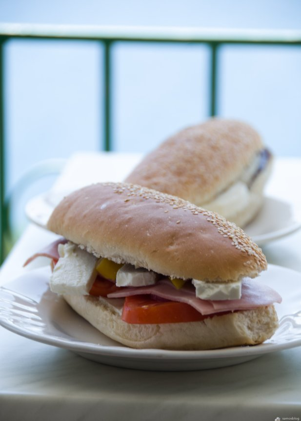 Home made sandwiches