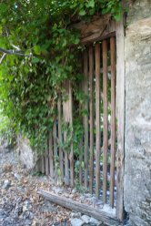 Gate to old farm house