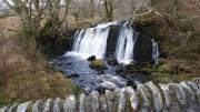 Awesome waterfall somenear Loch Awe