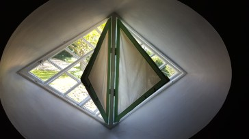 A Window On One Of The 16 Sides At A La Ronde