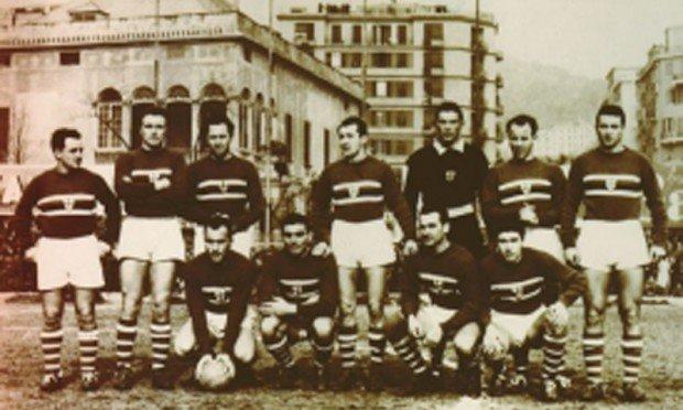 Accadde Oggi 22 9 1946 Si Gioca Roma Sampdoria 3 1 La Prima Partita Della Storia Della Sampdoria Gazzetta Sampdoriana