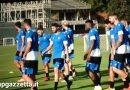 Bogliasco: squadra in due gruppi sotto lo sguardo di Ferrero, Osti e Pecini. Domani mattutino.