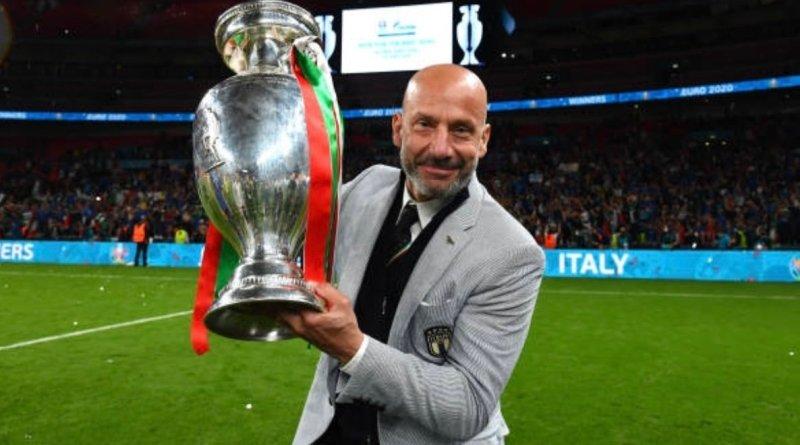 """EURO 2020: """"Questa vittoria senza Vialli, così come Mancini, non sarebbe niente"""", le parole di Florenzi dopo la vittoria."""