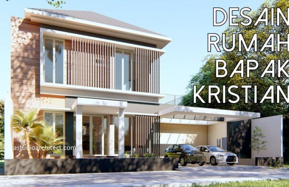 3 Bedrooms House Design with Pool