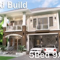 Home Plan 9x11 Meter 5 Bedrooms