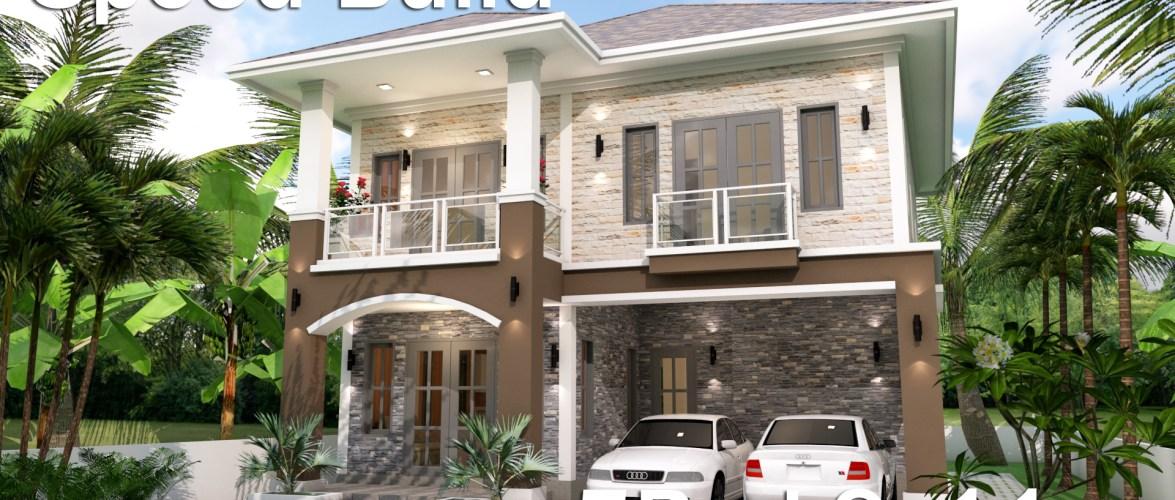 Home Plan 9×11 Meter 5 Bedrooms