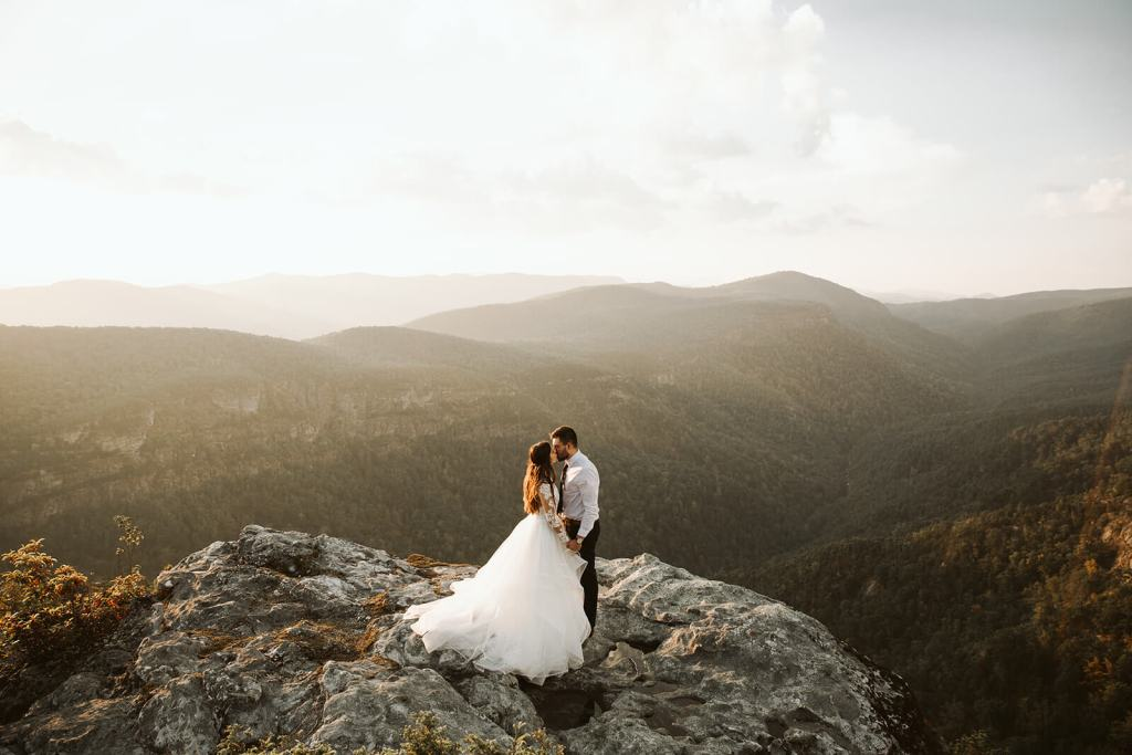 David + Ana Linville gorge second day session