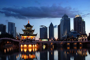 China top 5 emerging cities Guiyang