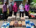 ODP dan Masyarakat Tidak Mampu di Kecamatan Kota Besi Dapatkan Bantuan Sembako