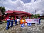Puasa Ramadan, Penyemprotan Disinfektan di Kelurahan Baamang Hulu Tetap Berlanjut