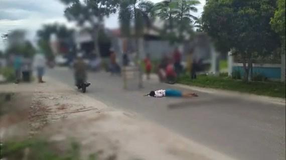 Takut Tertular Covid-19, Warga Tidak Berani Evakuasi Seorang Wanita Tergelatak di Jalan