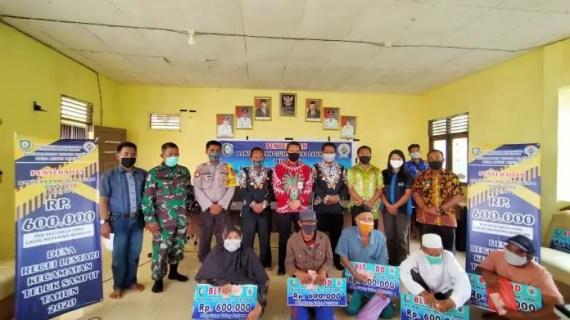 Desa Rege Lestari Serahkan BLT-DD Tahap Pertama Sukses