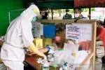 Dua hasil rapid test di Pasar Subuh Sampit reaktif COVID-19