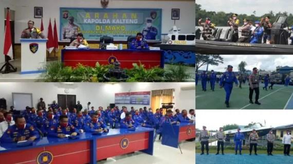Kapolda Kalteng Kunjungi Mako Ditpolairud di Sampit