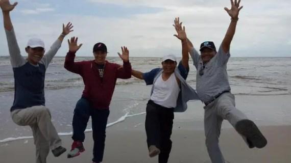 Bupati Kotim Promosikan Pantai Laut Cemeti Desa Setiruk, Begini Tanggapan Camat