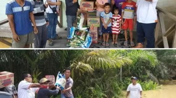 Anak Perusahaan BGA Group, PT KMB Salurkan Bantuan Untuk Korban Banjir