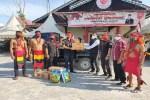 Pasukan Merah Bantu Sembako Warga Terdampak Banjir