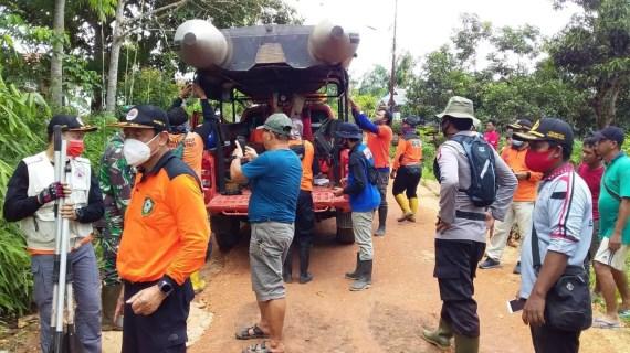 Polsek Cempaga Hulu Lakukan Monitoring Pengecekan Banjir
