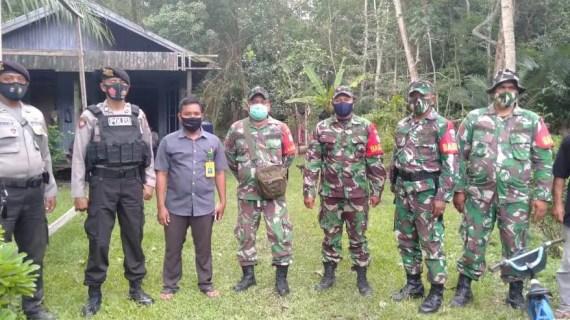 Polsek Pulau Hanaut Pengamanan Kampanye Paslon Bupati Kotim