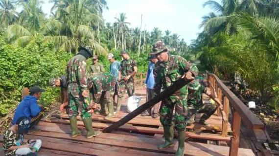 TMMD Menjawab Mimpi Masyarakat Kecamatan Pulau Hanaut