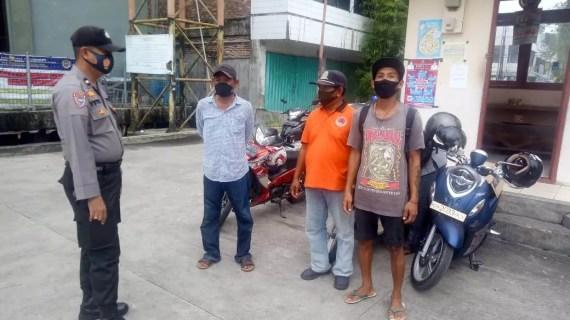 Polsek Kawasan Pelabuhan Mentaya Sambangi Masyarakat Didermaga Habaring Hurung Sampit