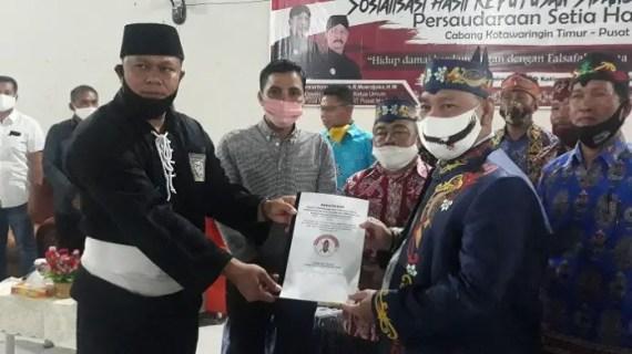 Dianggap Berjasa dalam Perdamaian, Halikin Dapat Penghargaan dari PSHT